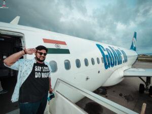 Travel to Maldives from India via #GoAir budget friendly way