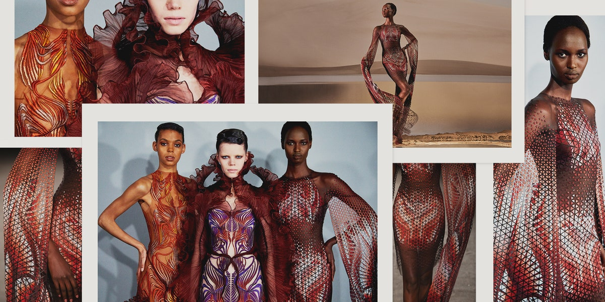 Iris Van Herpen on Her Collaboration with Parley for The Oceans